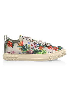 Giuseppe Zanotti Blabber Floral Leather Sneakers