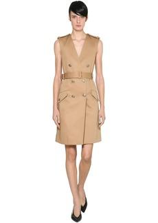Givenchy Cotton Gabardine Trench Dress