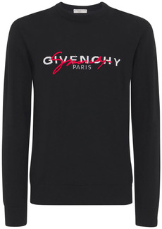 Givenchy Double Logo Intarsia Sweater