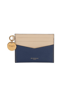 Givenchy Edge Colorblock Leather Card Case