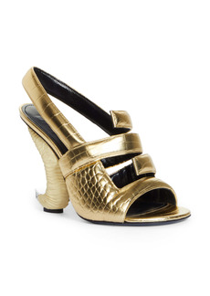 Givenchy 4G Logo Horn Slingback Sandal (Women)