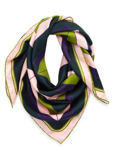 Givenchy 4G Logo Silk Scarf