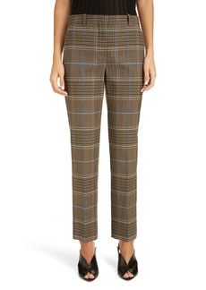 Givenchy Check Wool Pants