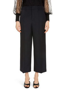 Givenchy Crop Wide Leg Wool Pants