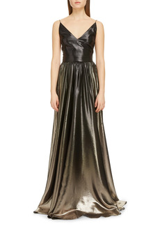 Givenchy Degradé Lamé A-Line Gown