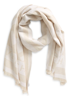 Givenchy 'G' Monogram Wool & Cashmere Scarf