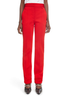 Givenchy High Waist Slim Fit Woven Pants