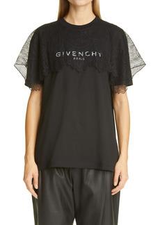 Givenchy Lace Logo T-Shirt