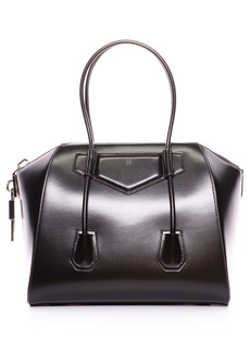 Givenchy Medium Antigona Lock Leather Satchel