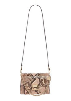 Givenchy Small GV3 Genuine Python Shoulder Bag