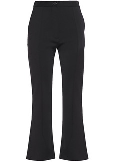 Givenchy Woman Stretch-ponte Kick-flare Pants Black