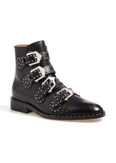 Givenchy Prue Studded Buckle Bootie (Women)