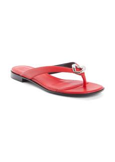 Givenchy G Chain Flip Flop (Women)