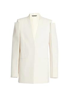 Givenchy Glove-Sleeve Tailored Jacket