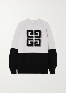 Givenchy Intarsia Cashmere Sweater