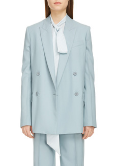 Women's Givenchy Double Breasted Summer Wool Blazer