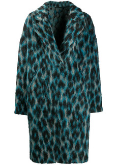 Golden Goose Alberta leopard-print coat