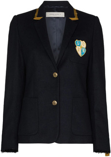 Golden Goose Aria chest-patch blazer jacket