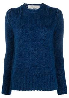 Golden Goose frayed-knit jumper
