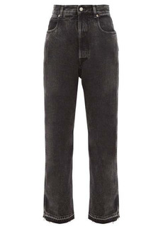 Golden Goose Kim frayed-edge straight-leg jeans