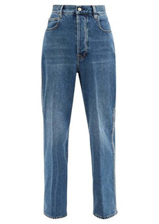 Golden Goose Kim studded straight-leg jeans