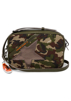 Golden Goose Star Camo Camera Bag