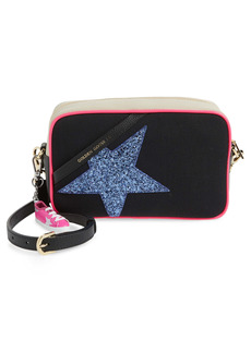 Golden Goose Star Canvas & Leather Camera Bag