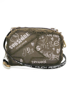 Golden Goose Star Canvas Camera Bag
