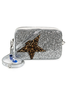 Golden Goose Star Genuine Calf Hair & Leather Camera Bag