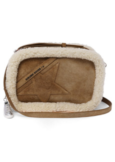 Golden Goose Star Genuine Shearling Camera Bag