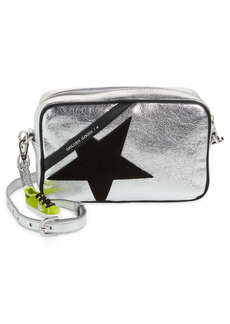 Golden Goose Star Metallic Leather Camera Bag