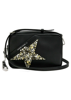 Golden Goose Star Studded Leather Camera Bag