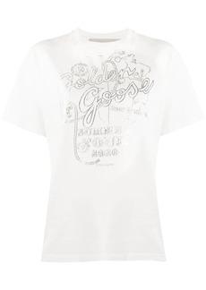 Golden Goose Golden Tour print T-shirt