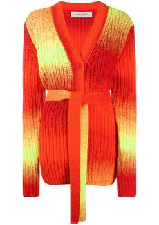 Golden Goose ombré chunky-knit cardigan