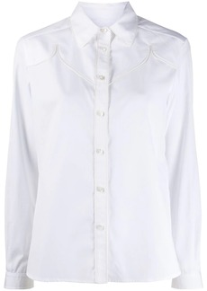 Golden Goose Texas long-sleeved buttoned shirt