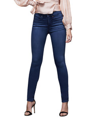 Good American Good Legs High Waist Ankle Skinny Jeans (Blue 778)