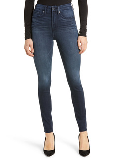 Good American Good Legs High Waist Ankle Skinny Jeans (Regular & Plus Size)