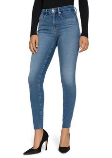 Good American Good Legs Skinny Jeans (Blue 655) (Regular & Plus Size)