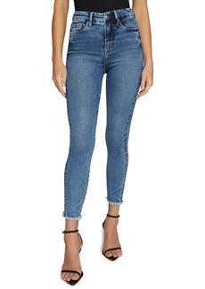 Good American Good Waist High Waist Crop Skinny Jeans
