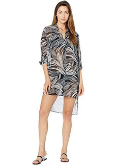 Gottex High-Low Beach Blouse - Essential