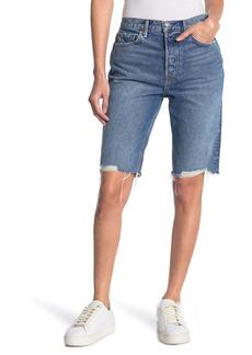 GRLFRND Beverly Denim Cutoff Shorts
