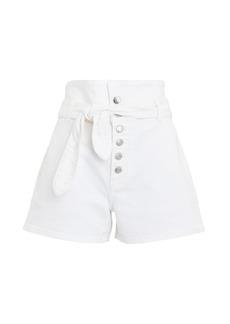 GRLFRND Brynn Tie-Waist Denim Shorts