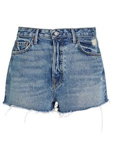 GRLFRND Cindy Cut-Off Denim Shorts
