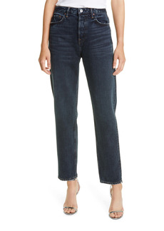 GRLFRND Devon High Rise Relaxed Fit Jeans (Into The Abyss)