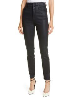 GRLFRND Oriana Coated Ankle Skinny Jeans (Got Away Again)