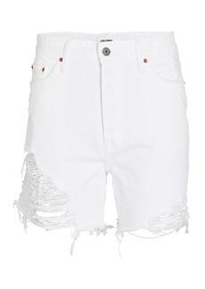 GRLFRND Jourdan Cut-Off Denim Shorts