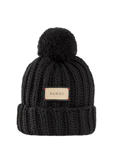 Gucci Bignabel Wool Knit Hat