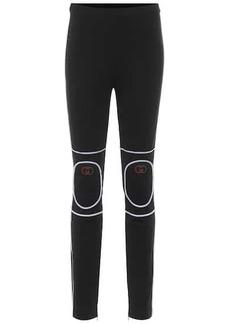 Gucci Cotton-blend jersey leggings