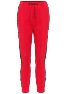 Gucci Side-stripe sweatpants