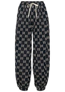 Gucci GG cotton-jersey sweatpants